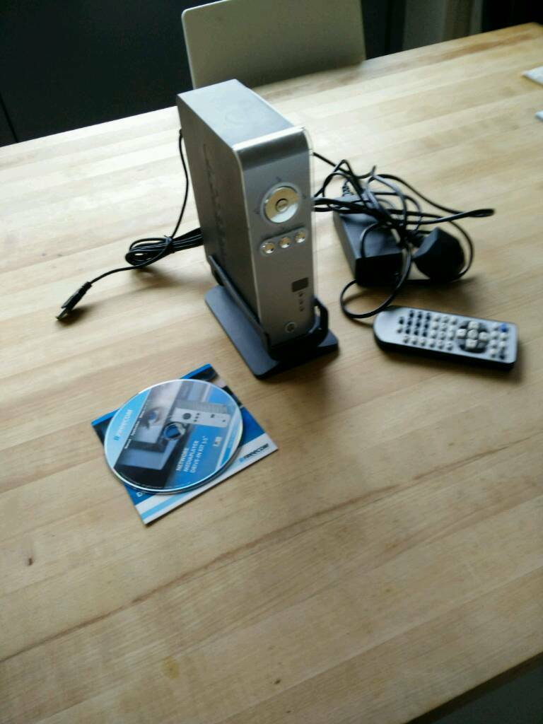 Network media player with 300Mb disk