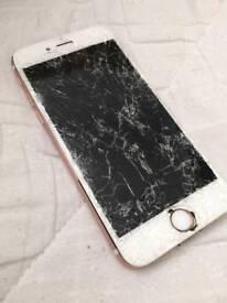 *Buy iphones with cracked screen 6 - 8+
