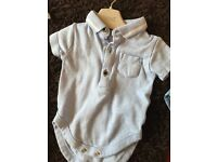 Designer baby bundle of vests/Rompers