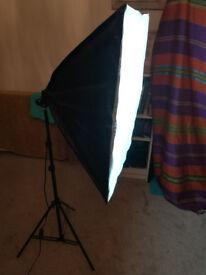 x2 Photography Lights