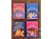 4 Disney Read To Me Book & CD's.