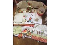 Mammas & Pappas Jamboree nursery set