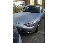 Silver MX5 Sport for sale