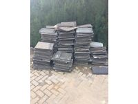 Grey Marley modern roof tiles approx 200 £35