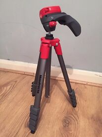 MANFROTTO Compact Action Red Tripod £30