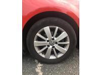 "VW GOLF MK6 Match 16""alloys"
