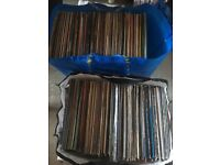 Job lot of around 300 Vinyl's mix of albums and 12""