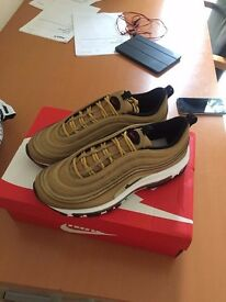 Nike Air max 97 metalic Gold - Uk6.5