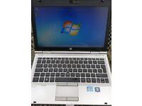 HP Elitebook 2560p Intel i5 Laptop. 4gb. 250gb. Hd drv.
