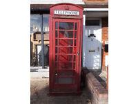 k6 telephone box POST 1935 RED TELEPHONE BOX IN YEOVIL