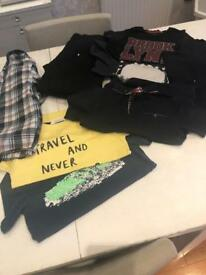 Great bundle of boys clothes. 7-8, 8-9 years. £10. River island, h and m, next etc