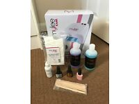 Nail Gel Polish Kit Bluesky