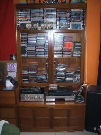 NATHAN Vintage Teak Display Cabinet