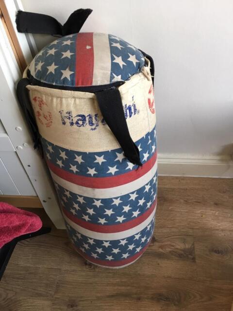 05d98b4d22 Canvas punch bag. Blackpool