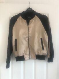 Women's bomber style jacket size 12
