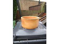 Yorkshire terracotta plant pot ,planter, garden pot.
