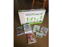 Nintendo Wii + Sports Resort + balance board and more!