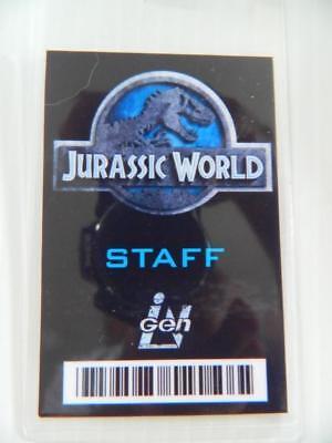 VIE PROP - ID/Security Badges (Jurassic World - Staff) (Movie World Halloween)