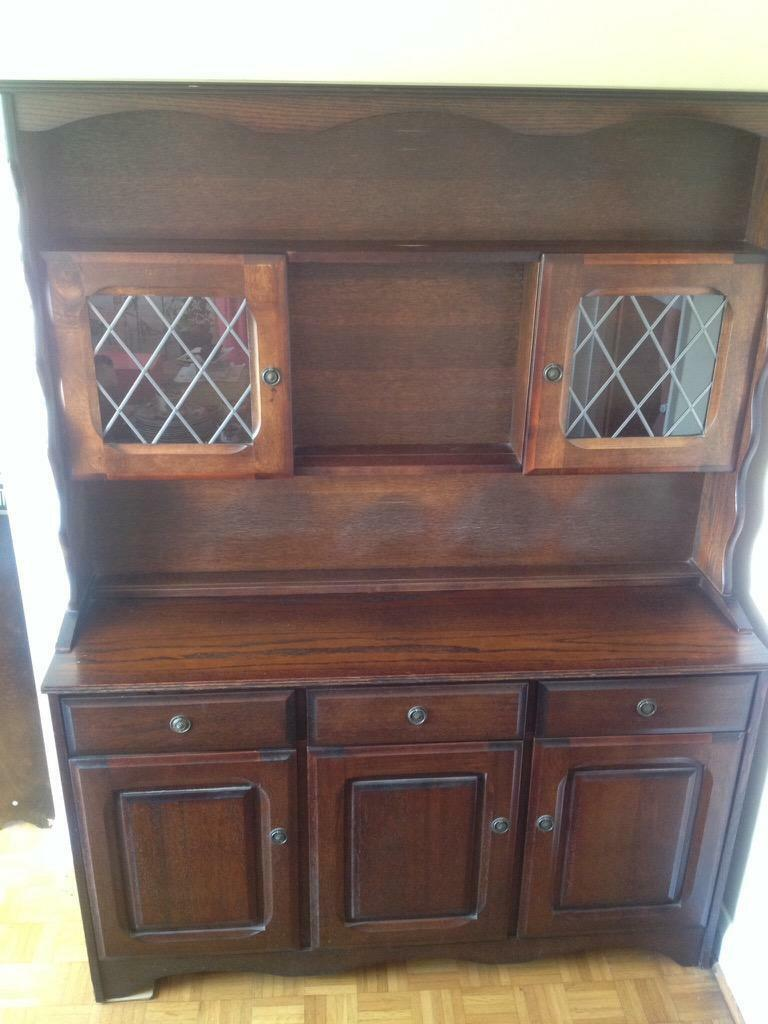 DARK WOOD DRESSER RESTORATIONUPCYCLE In Kilgetty