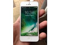 Boxed White and Silver iPhone 5, 64gb on EE