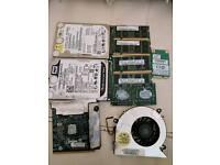 Laptop HDD/RAM/more