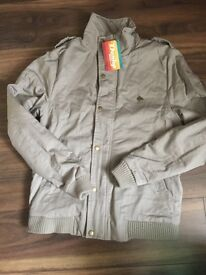 Men's new with tags Dunlop Zara jacket coat