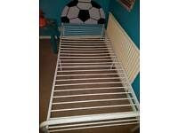 Boys Single bed with football headboard