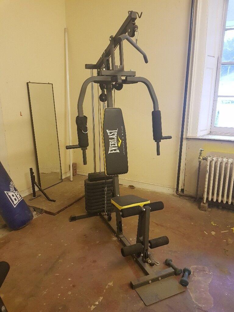 Home gym equipment . Job lot. Running machine