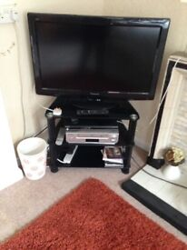 Panasonic Tv and glass stand perfect working order selling due to house sale
