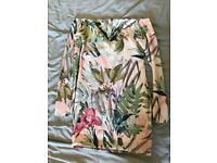 Floral bandeau dress