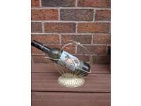 1 X bottle wine holder rack table ornament