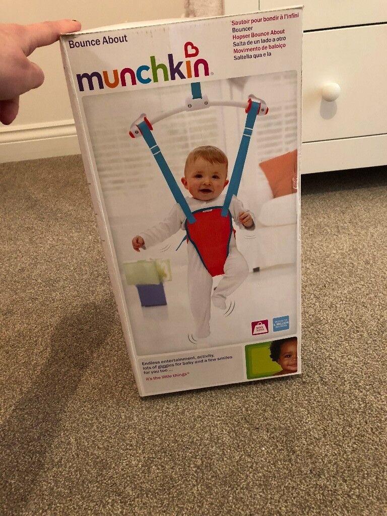 bb6d517ae731 Munchkin Baby Door Bouncer - Brand new in box