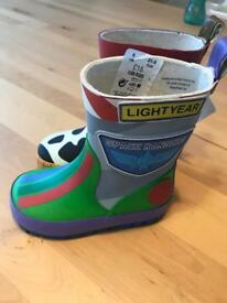 Toy story wellies size 5 BNWT