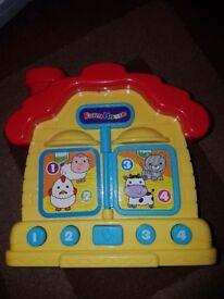 Farmhouse animals toy
