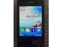 Alcatel one touch mobile phone on O2 UK