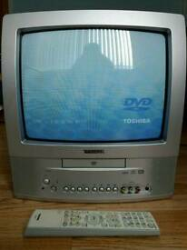 TV with built-in DVD player