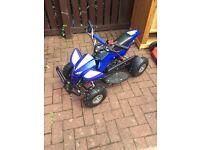 Kids 50cc petrol quad bike 7 months old