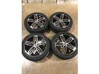 "Brand new set of 18"" alloy wheels and tyres Vw T5 T6 Transporter"