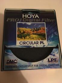 77mm HOYA pro1 digital circular polarising filter