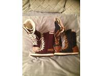2 x Girls Next boots size 1