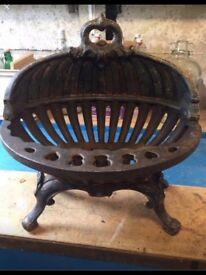 Lovely ornate fire basket