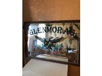 Glenmorag whiskey mirror/sign