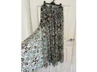 Top shop maxi skirt size 12