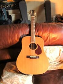 ELECTRO/ACOUSTIC 12 STRING GUITAR