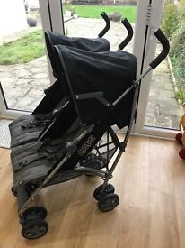 Mamas and Papas Kato2 twin double buggy