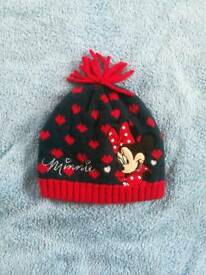 Minnie mouse hat for 3-5 years old