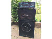 Peavey Series 402 MkIV Bass Head (400W) with 210TX and 115BX Bass Enclosures