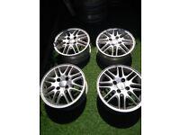 Set of 15 Inch Ford Fiesta Alloy Rim Wheels in West London Area