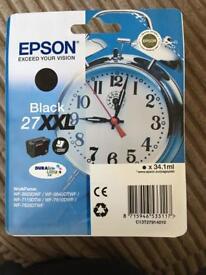 Epson 27XXL Black Ink Cartridge