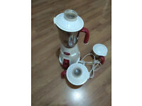 Completly workig condition prestige mixer and grinder (with one broken part)